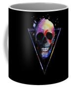 Watercolor Skull Design For Women Coffee Mug