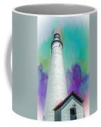 Watercolor Sky Lighthouse Coffee Mug