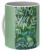 Watercolor - Tree Frog Design Coffee Mug by Cascade Colors