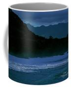 Waves In The Pacific Ocean, Waimea Bay Coffee Mug