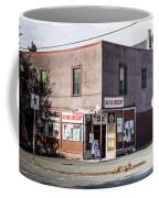 Wayne Grocery Coffee Mug by Juan Contreras