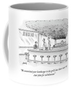 We Committed Your Hamburger Coffee Mug