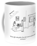 We Offer Video Guides Coffee Mug