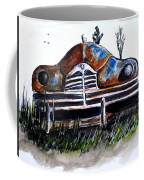 Weathered And Rusting Coffee Mug by Clyde J Kell