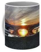 Weeks Bridge At Sunset Coffee Mug by Wayne Marshall Chase