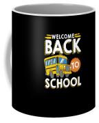 Welcome Back To School Kids School Bus Coffee Mug