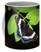 White Admiral Butterfly Coffee Mug