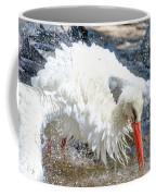 White Stork Fishing Coffee Mug