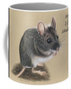 Wild Deer Mouse Coffee Mug