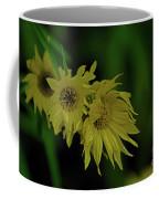 Wild Sunflowers In The Wind Coffee Mug