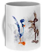 Wile E. Coyote And The Road Runner Coffee Mug