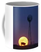 Windmill And Moon 01 Coffee Mug by Rob Graham