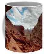 Window On The Desert Coffee Mug