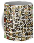 Wine Corks At An Angle Abstract Coffee Mug