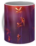 Winged Wonders - Dragonflies At Sunset Coffee Mug