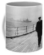 Winston Churchill At Sea Coffee Mug