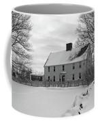 Winter At Noyes House Coffee Mug by Wayne Marshall Chase