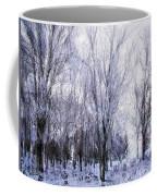 Winter Lace Coffee Mug