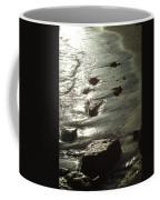 Winter Sun On The Tide Coffee Mug