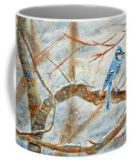 Winter Tree Hugger Coffee Mug