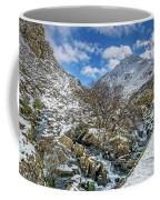 Winter Wonderland Snowdonia Coffee Mug by Adrian Evans