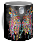 Wolf Song Coffee Mug by Mark Taylor