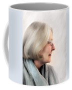 Woman In Grey Coffee Mug