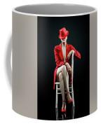Woman In Red Coffee Mug
