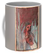 Woman In Reeds Coffee Mug