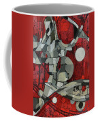 Woman Man Woman Coffee Mug by Mark Jordan