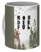 Wonderful Inspirational Poster Coffee Mug by Celestial Images