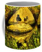 Wood Duck Pair And Their Reflection Coffee Mug