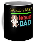 Worlds Best Foxhound Dad Coffee Mug