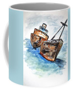 Wrecked Shipper Coffee Mug by Clyde J Kell