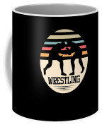 Wrestling Art Coffee Mug