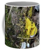 Yellow Enveloping White Coffee Mug