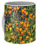 Yellow Poppies Of California Coffee Mug