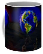 Yesterday, Today And Tomorrow Coffee Mug by Paul Wear