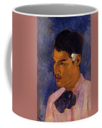 Young Man With A Flower Behind His Ear 1891 Coffee Mug