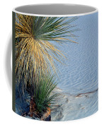 Yucca Plant In Rippled Sand Dunes In White Sands National Monument, New Mexico - Newm500 00113 Coffee Mug