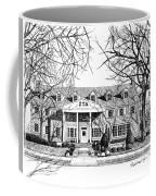 Zeta Tau Alpha Sorority House, Purdue University, West Lafayette, Indiana, Fine Art Print Coffee Mug