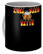 Zwei Bier Bitte Cool German Oktoberfest Beer Festival Design For Beer Lovers And Beer Drinkers Coffee Mug