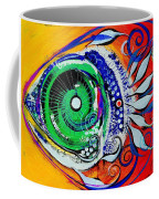 Happy Fish Compliments Transcending Time Coffee Mug