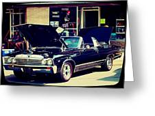 1967 Chevelle Greeting Card