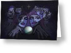 062 - Demons B Greeting Card