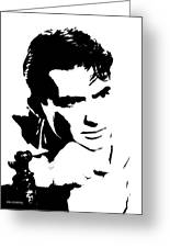 # 1 Gregory Peck Portrait. Greeting Card