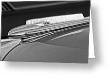 1948 Chevrolet Hood Ornament Greeting Card