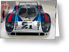 1971 Porsche 917 Lh Coupe Greeting Card