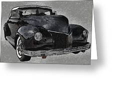 39 Custom Coupe Greeting Card