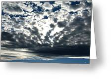 A Glorious Cloudscape Greeting Card